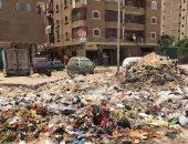 بالصور.. القمامة تحاصر سكان شارع التروللى خلف حديقة بدر بالقاهرة