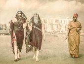 """بالصور.. الملاية اللف تعود للإسكندرية على يد القارئ """"إسلام عادل"""""""