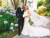 دى بروين يستغل العطلة الصيفية ويحتفل بزفافه