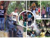 100 ألف مواطن يزورون 8 حدائق للحيوان فى ثانى أيام العيد