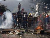 رويترز: رجال فى زى عسكرى يعلنون بدء انتفاضة فى مدينة بفنزويلا