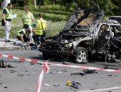 انفجار عبوة داخل سيارة بيك أب فى منطقة المرجة بدمشق