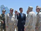 الدفاع الروسية: رئيس هيئة الأركان يبحث مع الأسد محاربة الإرهاب بقاعدة حميميم