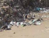 القمامة تنتشر فى عمارات المثلث بمدينة نصر والأهالى تستغيث