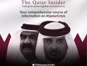 """""""The Qatar Insider"""" موقع جديد يكشف فضائح قطر بالإنجليزية.. الدويلة تسعى لتعزيز تواجد الجماعات الإرهابية فى المنطقة لأطول وقت ممكن.. وتقارير عن تورط بنك باركليز مع قطر فى تمويل الجماعات الإرهابية"""