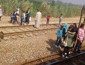 قارئ يشكو تعطل قطار سكة حديد كفر الزيات المتجه إلى القاهرة