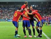 انفوجراف.. إسبانيا أكثر منتخبات أوروبا نجاحاً فى بطولات اليورو