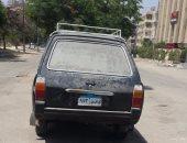 شكوى من تواجد سيارة مجهولة لأكثر من شهرين فى أحد شوارع مساكن شيراتون