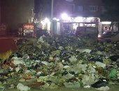 شكوى من انتشار القمامة بشارع كريستال عصفور بشبرا الخيمة