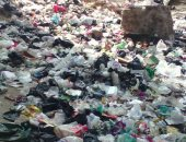 شكوى من سد شارع جسر الكونيسة بالعمرانية من تراكم القمامة عليه