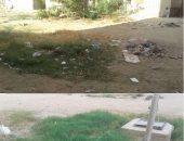 قارئ يشكو من القمامة بالمجاورة السادسة بـ 6 أكتوبر