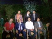 بالصور.. والد اللاعب محمد صلاح يقيم وليمة عشاء بطنطا