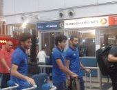 بالصور.. توافد بعثة الأهلى على مطار القاهرة استعدادًا للسفر إلى زامبيا