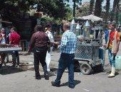 حملات لإزالة الإشغالات بأحياء القاهرة لإعادة الانضباط للشارع