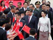 بالصور.. وصول الرئيس الصينى إلى هونج كونج احتفالا بالذكرى الـ20 لعودتها لحكم الصين
