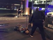 بالصور.. حادث دهس جديد فى العاصمة البريطانية لندن