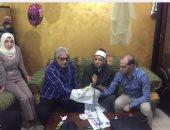 """بالصور .. أحمد ناجى يحتفل بـ """"عقد قران"""" نجلته"""