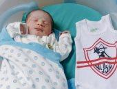 حازم إمام ينشر صورة أصغر مشجع زملكاوى يحمل اسمه