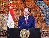 السيسي يؤكد موقف مصر الثابت والداعم لإعادة توحيد الأراضى القبرصية