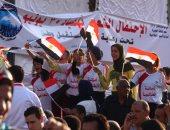 بالصور.. الآلاف يحتشدون أمام قصر عابدين للمشاركة باحتفالية مستقبل وطن بذكرى 30 يونيو