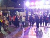 بالصور.. احتفالات الذكرى الرابعة لـ 30 يونيو بميدان شهداء بورسعيد