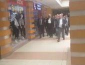 شاهد أول ظهور لرجل الأعمال هشام طلعت مصطفى بعد خروجه من السجن