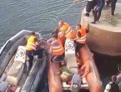غرق طالب ونجاة آخر  أثناء تعلم السباحة فى النيل بسوهاج