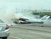 مصرع 4 أشخاص فى تحطم طائرة بولاية فلوريدا الأمريكية