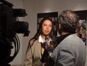 صور.. زينب نور تنظم معرض لطلاب فنون جميلة الزمالك بعنوان لا لختان الاناث