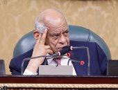 رئيس البرلمان عن تمديد فرض الطوارئ: بحكم مسئوليتى أقول الخطر ما زال قائما