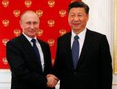 بوتين يبحث مع الرئيس الصينى قضايا الأمن العالمى خلال اجتماعهما فى الكرملين