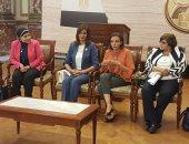 نبيلة مكرم: نكافح الهجرة غير الشرعية بالترويج للهجرة الشرعية