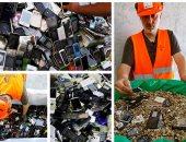 إعادة تدوير الهواتف المحمولة المستعملة فى سويسرا واليابان