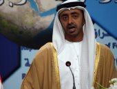 وزير خارجية الإمارات يبحث مع رئيس بوركينا فاسو سبل علاقات التعاون