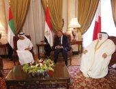 """وزيرا خارجية مصر و البحرين يصلان قصر التحرير للمشاركة باجتماع """"أزمة قطر"""""""