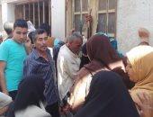 بالصور.. قارئ يشكو تأخر موظفى مكتب السجل المدنى برشيد وتكدس المواطنين