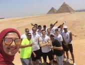 وفود مونديال كرة السلة تغادر القاهرة