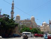 تشديدات أمنية بمسجد أبو العباس تزامنا مع احتفالات المولد النبوى بالإسكندرية