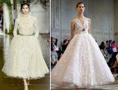 10 فساتين زفاف من أسبوع الأزياء الراقية فى باريس لازم تشوفيهم
