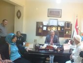رئيس مياه القناه يؤكد على دور المشاركة المجتمعية وتبنى  رجال الأعمال للمشروعات