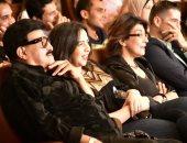 """بالصور.. سمير غانم وإيمى وسماح أنور فى ضيافة أشرف عبد الباقى بـ""""مسرح مصر"""""""