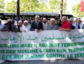 """زعماء مسلمون يحيون ذكرى هجمات """"باتاكلان""""فى باريس بمسيرة ضد الإرهاب"""