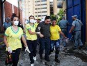 بالصور.. مصرع 10 أشخاص فى حريق بمبنى وزارة المالية بالسلفادور