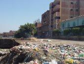 بالصور.. مقلب قمامة بقرية حلابة فى قليوب يهدد صحة المواطنين