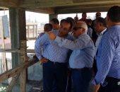وزير الإسكان ومحافظ بورسعيد يضعان حجر أساس محطة تحلية مياه البحر