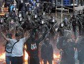 """""""حقوق الإنسان وحرية التعبير"""" على الطريقة الألمانية.. اشتباكات بين المتظاهرين والمعارضة الألمانية على مدار يومين كاملين خلال عقد قمة مجموعة الـ20.. ووزير العدل الألمانى يصف المتظاهرين بـ """"المجرمين"""""""