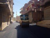 محافظ دمياط: رفع كفاءة الطريق الحدودى المؤدى إلى قرية الباز بالزرقا