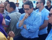 وزير الآثار يقترح تنظيم عرض بانورامى على ضفاف قناة السويس يحكى تاريخ الممر