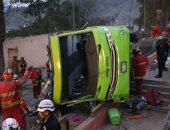 مصرع شخص وإصابة 20 آخرين فى اصطدام حافلة بشاحنة بالهند