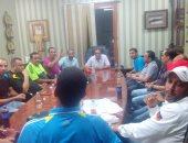 الصور.... الشافعى يجتمع بمدربى البلدية لوضع خطة تطوير قطاع الناشئين